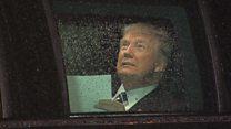 Трамп у лімузині влаштував репетицію промови