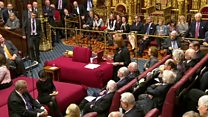 Lords defeat government over Brexit bill