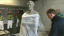 A.P. McCoy statue nearing completion