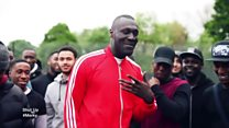 Stormzy on collecting badges
