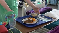 Some hospitals spending 94p on each meal