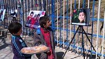 نمایشگاه یک میلیون لبخند برای صلح  کابل پس از دو حمله مرگبار