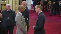 Basketball coach receives MBE