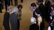 Nhật Hoàng gặp thân nhân cựu lính Nhật ở Việt Nam
