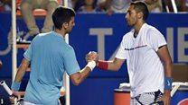 Djokovic dikalahkan Kyrgios, tersingkir dari Meksiko Terbuka