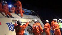 Крупное ДТП в Китае: 10 погибших и десятки раненых