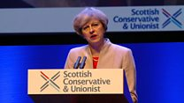 PM makes 'positive' case for the UK