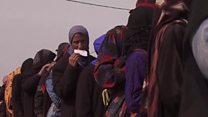 New Mosul refugee camp 'full in a week'