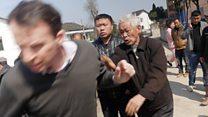 Çin'de BBC ekibine saldırı