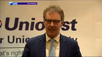 Watch: UUP leader Mike Nesbitt stands down