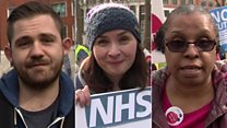 'Why I came to the NHS march'