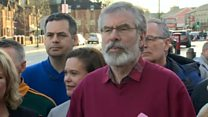 Adams says unionist majority 'demolished'