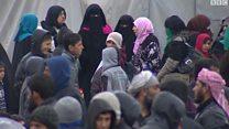 10  آلاف نازح يومياً من غربي الموصل بسبب المعارك