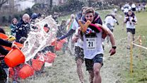 UK wife-carrying champions crowned