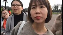 When Shanghai tourists met 'Mayor' Adams