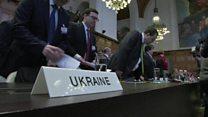 ТВ-новости: Украина против России в суде ООН