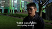 Extra long distance Gaelic learning