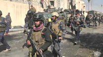 القوات العراقية تسيطر على مبنى محافظة نينوى غربي الموصل