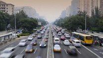 चीन में गाड़ियों के प्रदूषण से निपटने की तैयारी