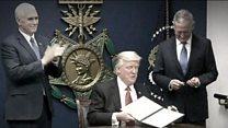 राष्ट्रपति डोनल्ड ट्रंप के ट्रैवल बैन की आलोचना
