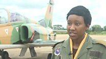 ज़ांबिया की पहली महिला फ़ायटर पायलट