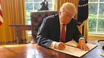 Trump signe un nouveau décret anti-immigration