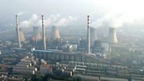 चीनमा वायु प्रदूषण