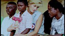 ভূমিমাইন নিষিদ্ধ করতে প্রিন্সেস ডায়ানার ঐতিহাসিক অ্যাঙ্গোলা সফর