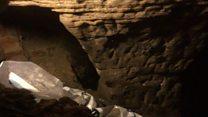 Sneinton pub unveiling cave