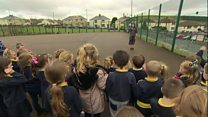 Pupils' daily mile raising energy levels