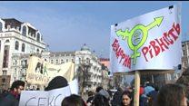 У Києві 8 березня пройшов Феміністичний марш