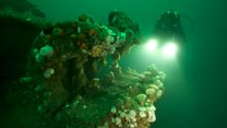 Divers map Scapa Flow for 2019 centenary
