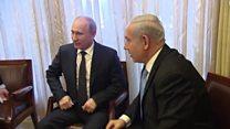 الرئيس الروسي ورئيس الوزراء الإسرائيلي يلتقيان في موسكو