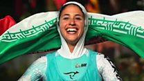 شیریں گرامی: ایران کی تاریخ ساز ایتھلیٹ