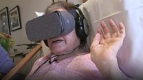 VR takes cancer patient back home