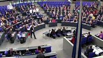 جدال لفظی رهبران آلمان و ترکیه