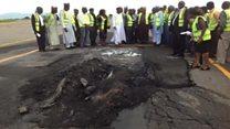 Yadda fasinjoji ke jijjiga idan jirgi zai sauka a Abuja