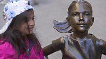 Dựng tượng cô gái làm đối trọng ở Phố Wall để đề cao phụ nữ