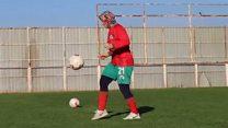 Туркеня грає у футбол всупереч родині