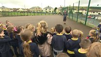 'Daily mile' takes small steps in Fochriw school