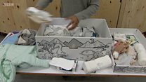 What's inside Scotland's baby boxes?