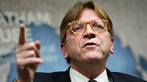 Guy Verhofstadt: 'Special arrangement' for some Brits