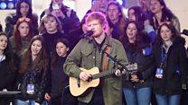 Ed Sheeran pecahkan rekor Spotify
