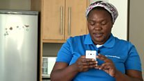 S Africa's tech savvy domestic workers