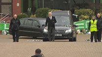 Tommy Gemmell leaves Celtic Park for last time