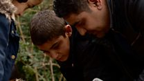 'New childhood' for reunited Syrian boy