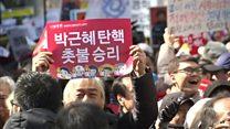 """ТВ-новости: Южная Корея """"уволила"""" президента"""