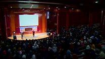 سالن اجتماعات مدرسه معرفت کابل افتتاح شد