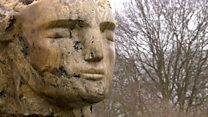 A new sculpture has been unveiled in the grounds of Godinton House near Ashford.