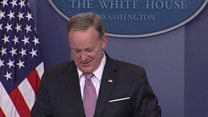 Sean Spicer's pin problem